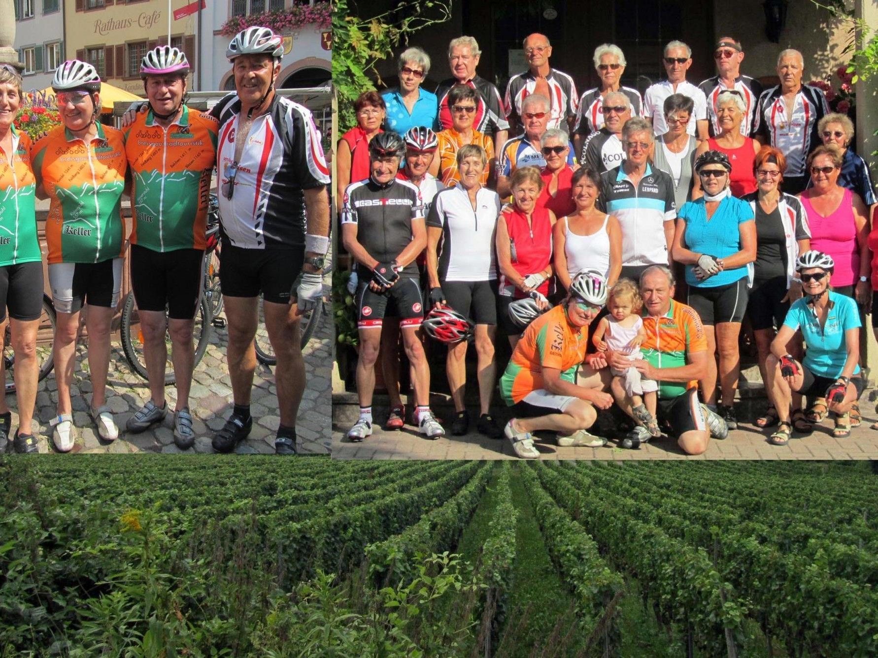 """Team per pedales: """"Weinbeißer-Tour"""" an den Kaiserstuhl"""
