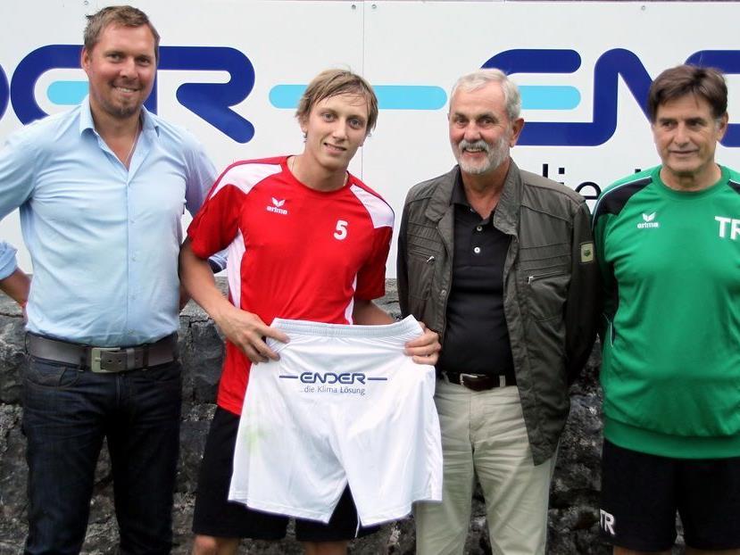 Ender Klimatechnik mit Sitz in Altach unterstützt künftig den FC RW Rankweil.