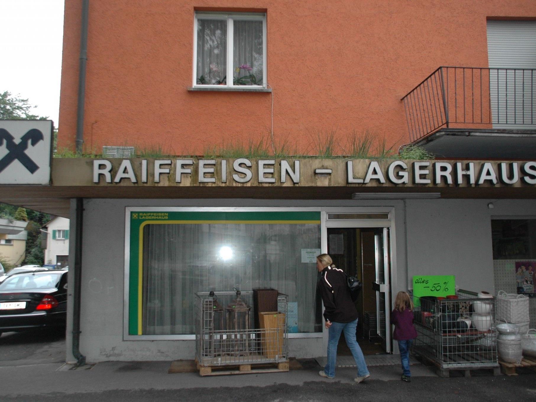 Im November diesen Jahres soll das Raiba Lagerhaus seine Türen für immer schließen.