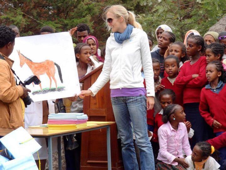 """Bildung bedeutet für Frauen in Äthiopien die große Chance, aus dem """"Teufelskreis Armut"""" rauszukommen."""