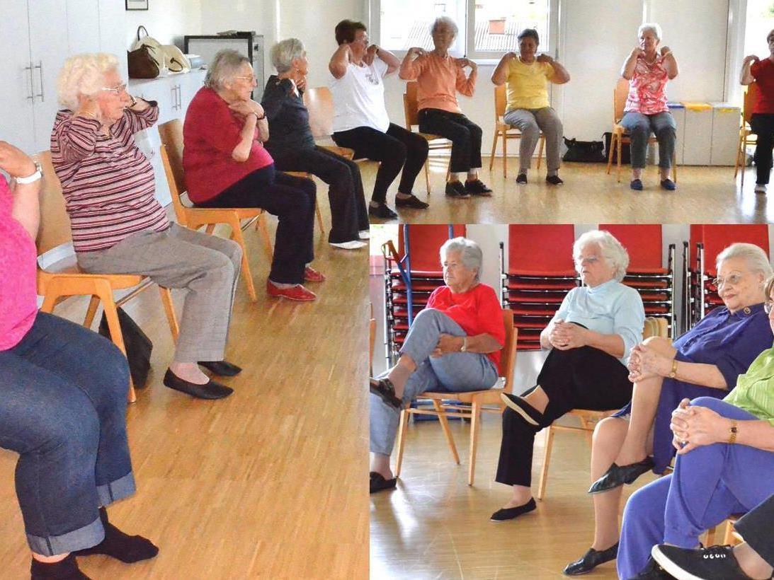 Senioren beim Turnen