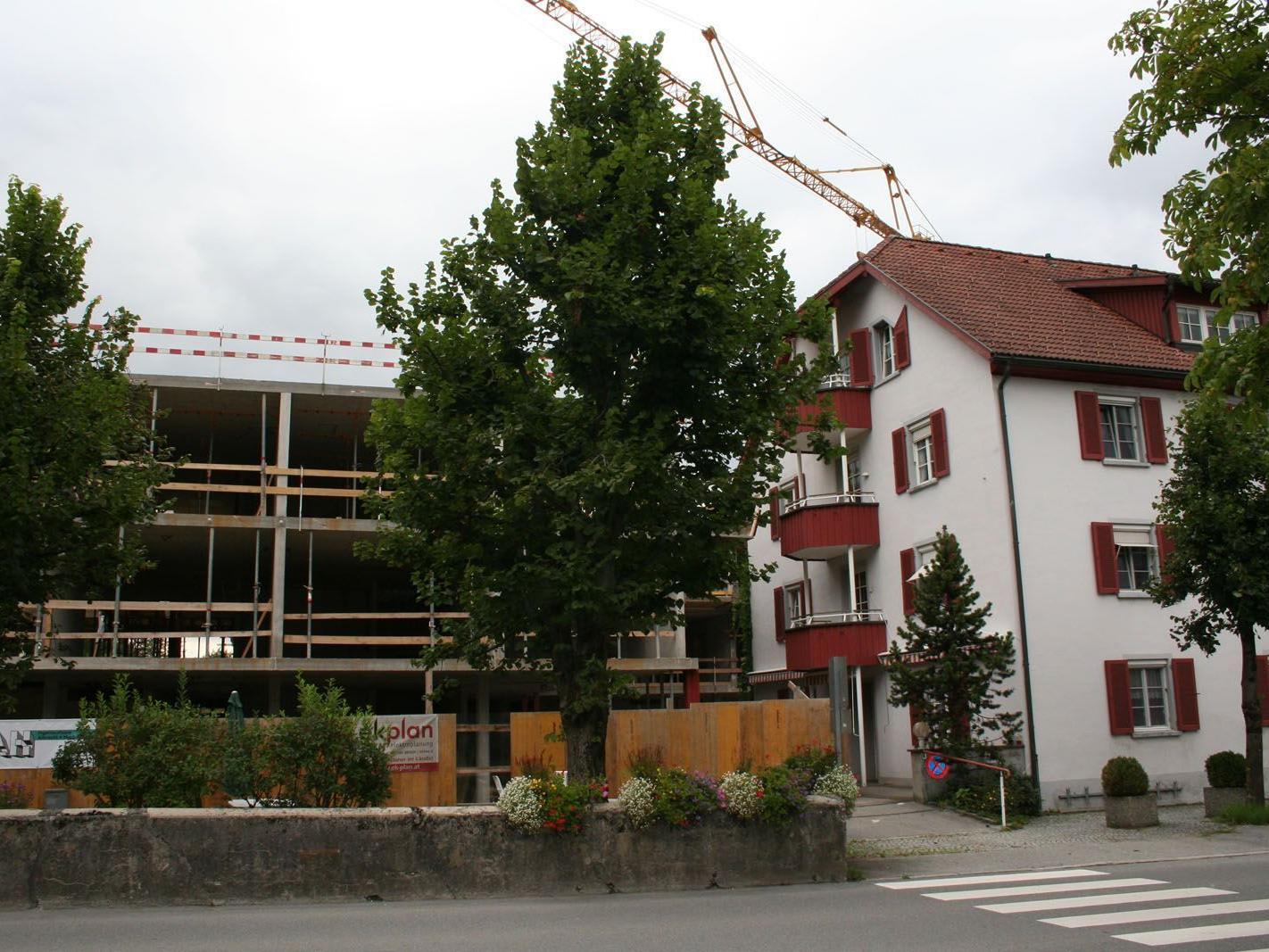 Elf Millionen Euro werden in das neue Nenzinger Sozialzentrum investiert.