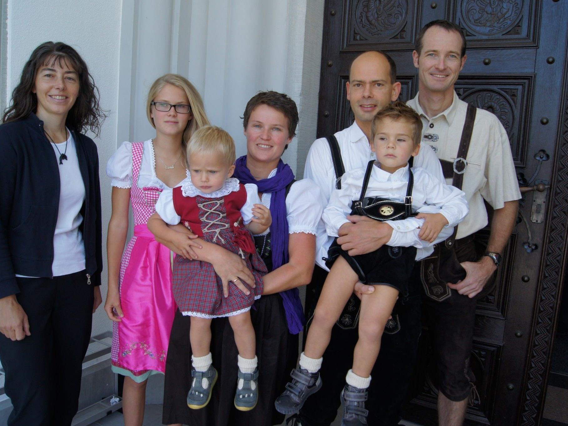 Taufe von Eva Maria Birnbaumer in Hard