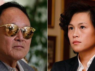 In seinem Angebot verschwieg der 76-jährige Chao (r.) allerdings , dass seine Tochter (l.) lesbisch ist.