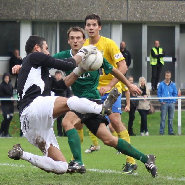 DSV Goalie Gökhan Hacisalihoglu hielt gegen VfB Hohenems seinen Kasten rein.