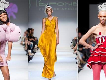 Kreative Outfits ams letzten Tag der MQ Vienna Fashion Week 2012.