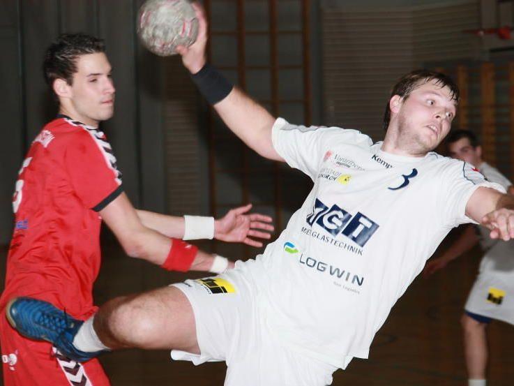Spielertrainer Bernhard Grissmann schaffte mit seiner Truppe den Aufstieg in den ÖHB-Cup.