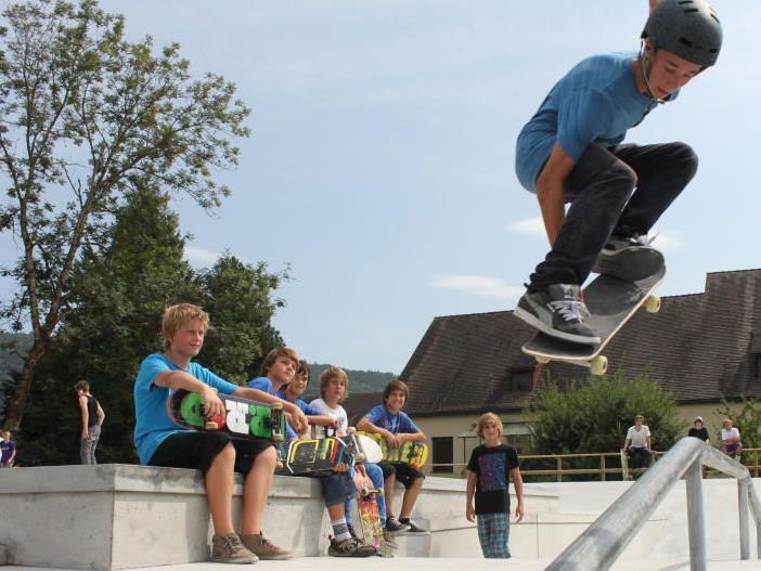 Eröffnung Skatepark Oberau, Feldkirch-Gisingen am 6. Oktober um 13 Uhr.