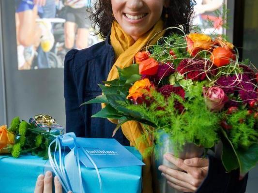 Vizeweltmeisterin Sabine Reiner wurde in einem gebührenden Rahmen geehrt.