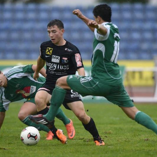 SC Bregenz-Mittelfeldspieler Julian Mair durfte gegen Wals/Grünau über einen 2:1-Heimsieg jubeln.