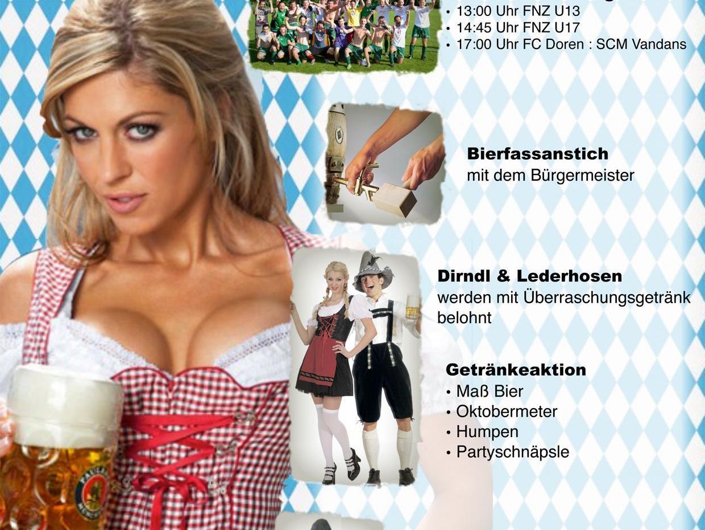 Heimspiele und Weißwurst-Fest in Doren