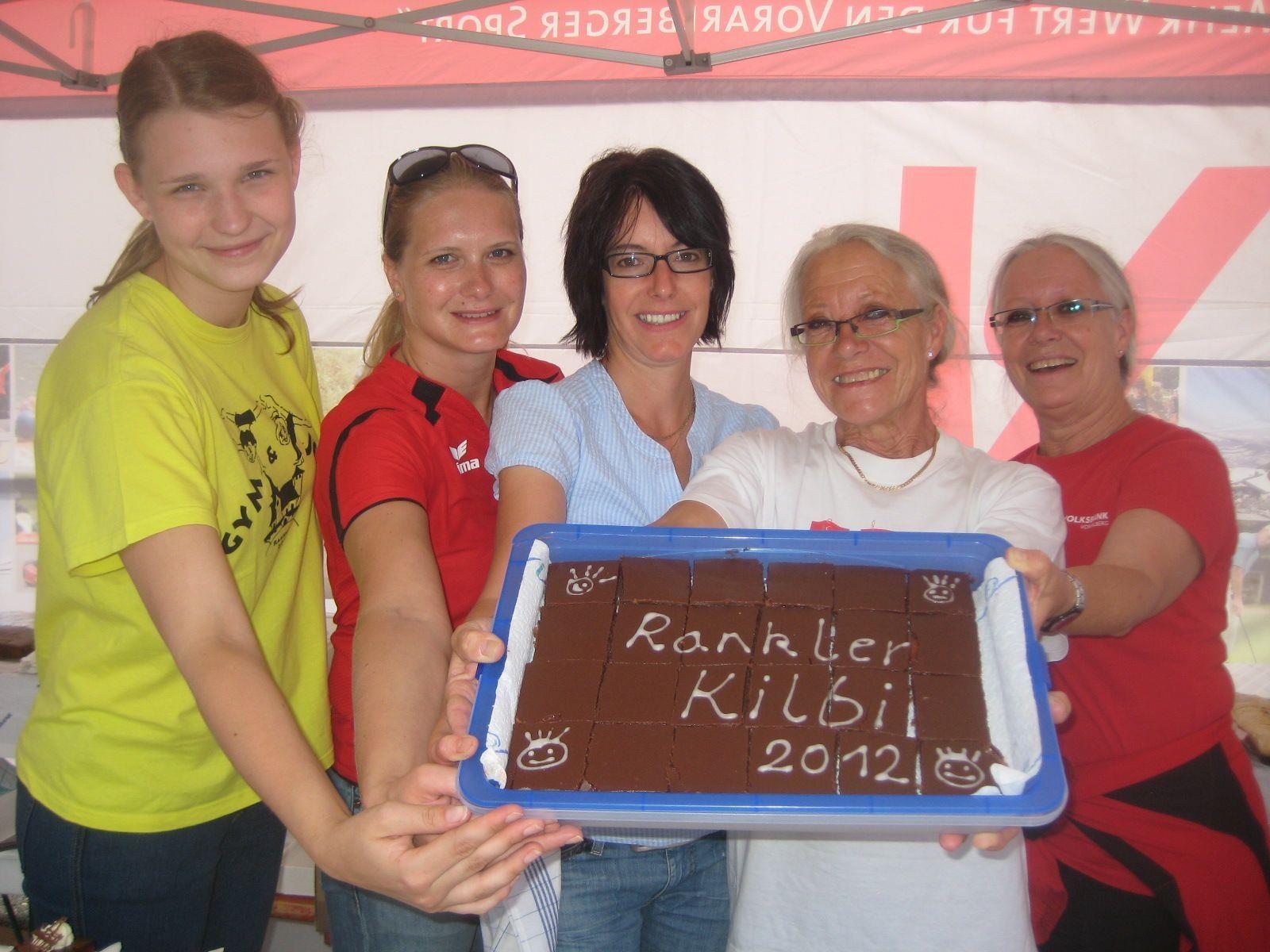 Nadine, Tanja, Ingeborg, Astrid und Sigrid von der Turnerschaft Rankweil verwöhnten die Besucher kulinarisch.