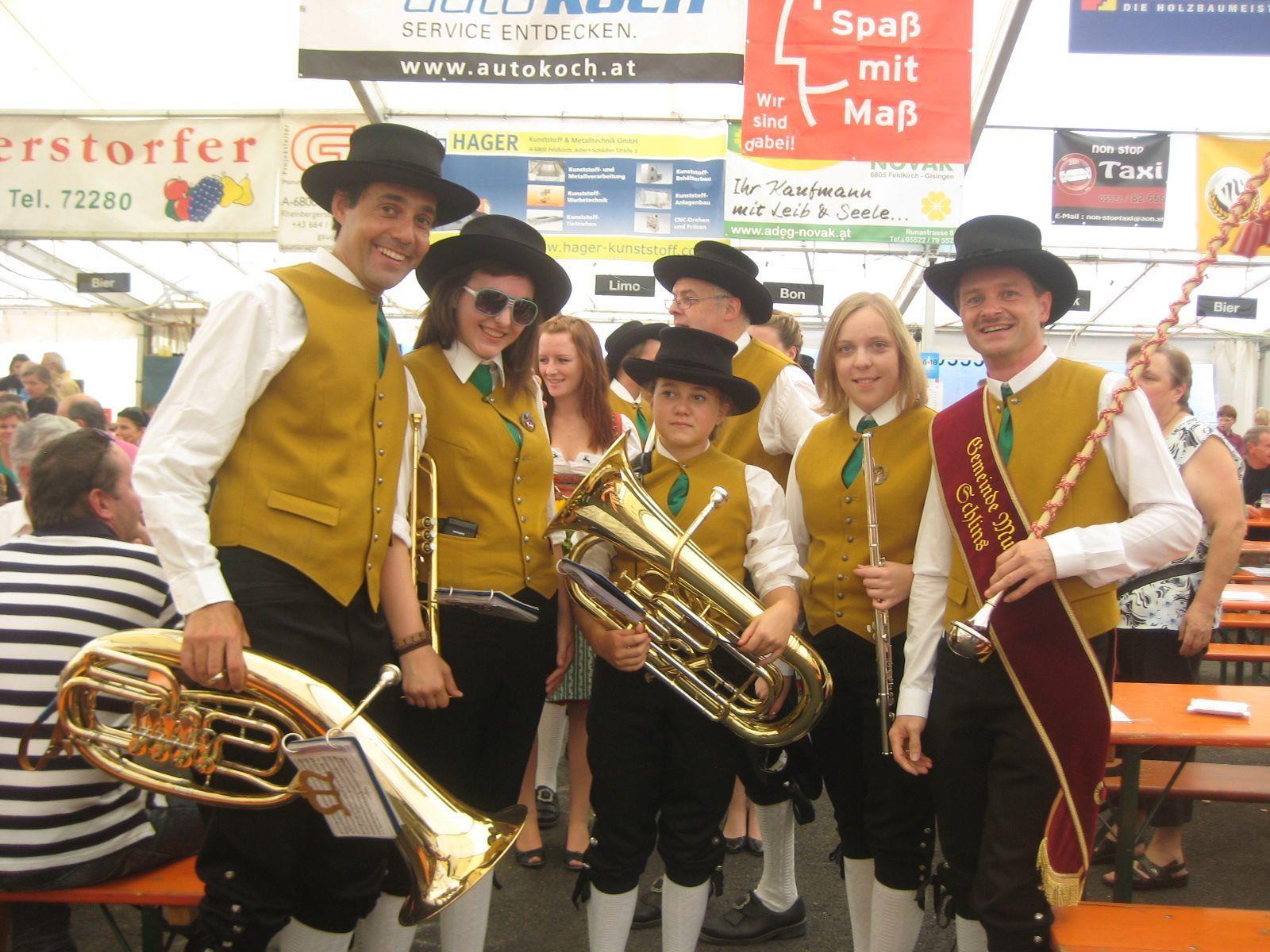Verschiedenste Musikgruppen sorgten für Unterhaltung.