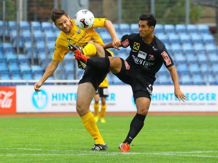 SC Bregenz-Spielmacher Sidinei de Oliveira will im Nachbarschaftsduell am Ende siegen.