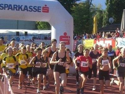 start des 3,8 km Hobbylaufes