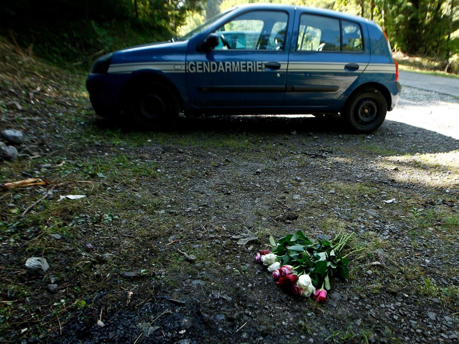 Der Tatort: Das Massaker in den französischen Alpen hatte vier Menschen das Leben gekostet.