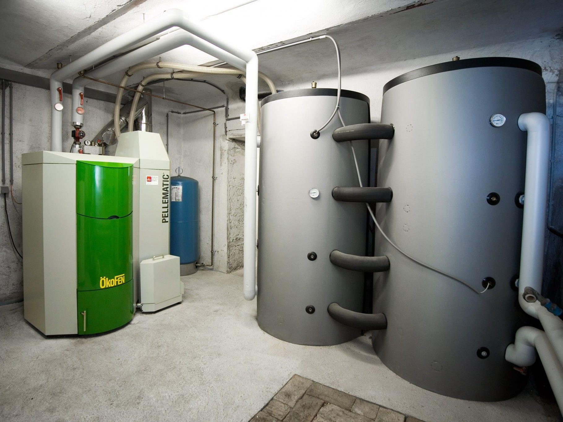 Der ÖkoFEN Pelletskessel mit 56 Kilowatt versorgt das Pfarramt Tschagguns.