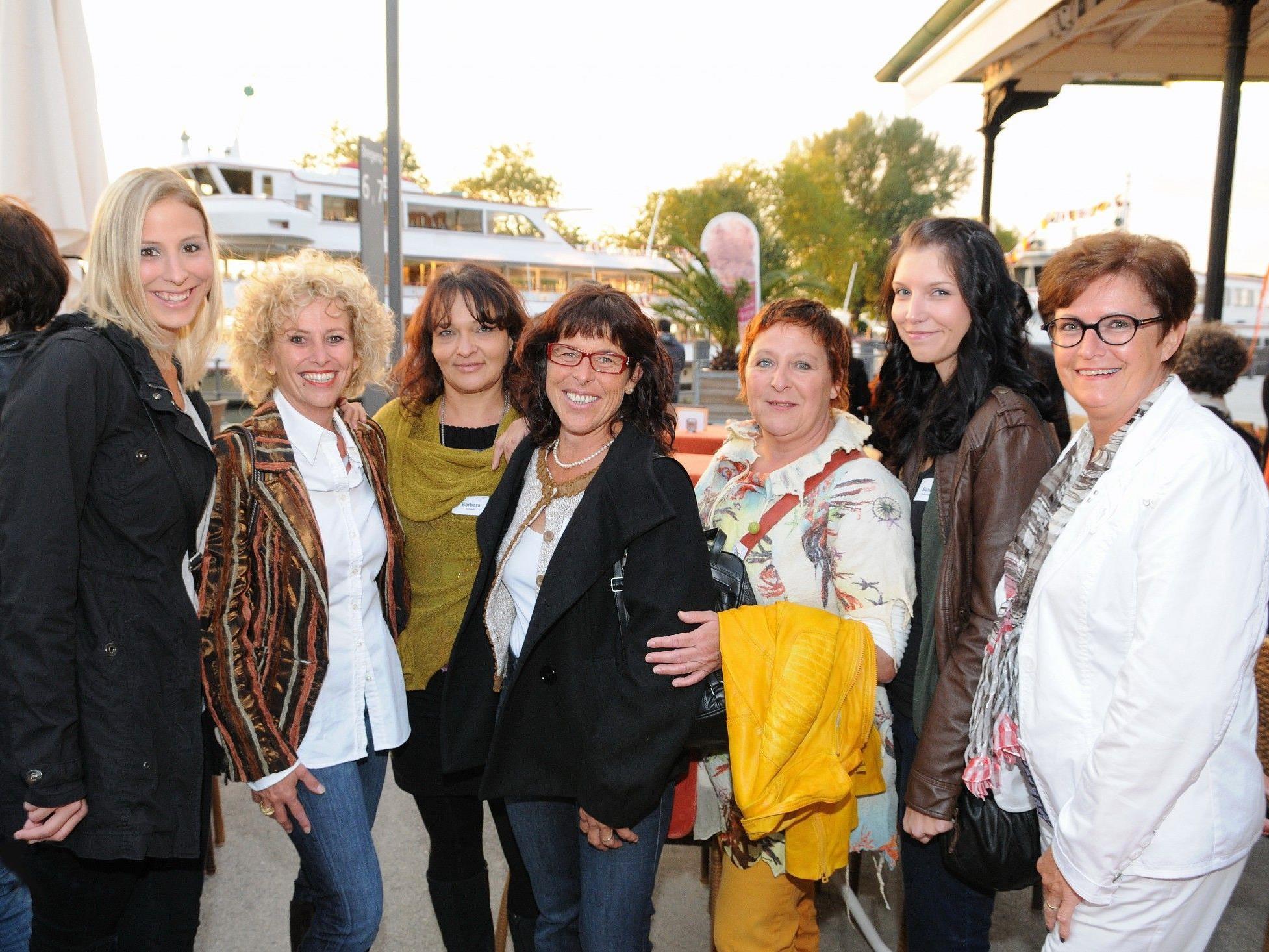 """Empfang des Landes für Pflegefachkräfte der Hauskrankenpflege Vorarlberg auf dem Bodenseeschiff """"Stadt Bregenz"""""""