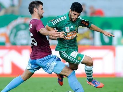 Einen souveränen Sieg fuhr der SK Rapid Wien am Sonntag mit einem 3:0 gegen den SV MAttersburg ein.