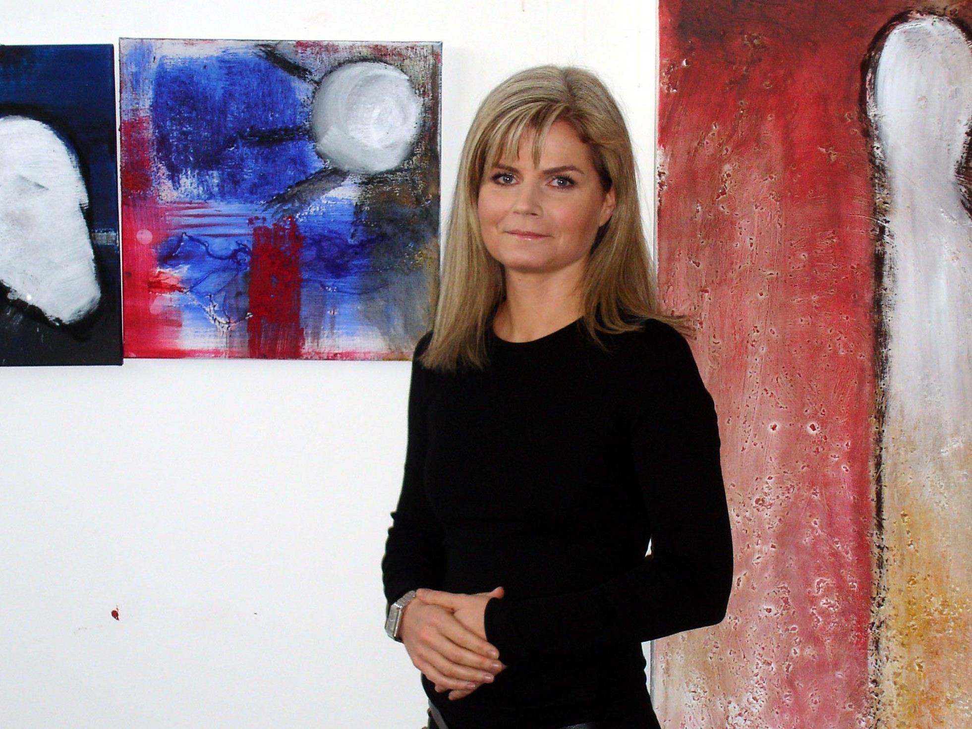 Caroline Rusch in ihrem Atelier.