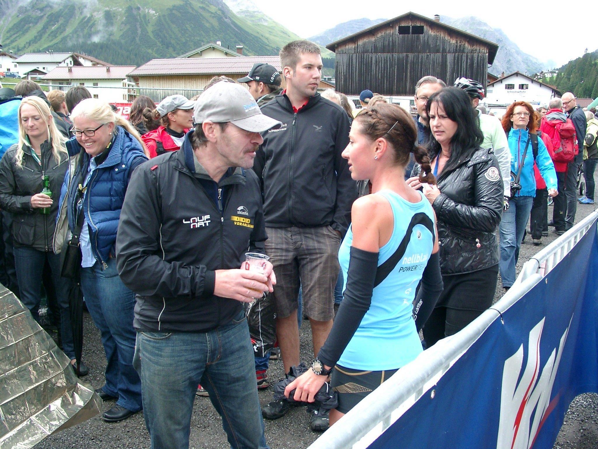 Für Laufwunder Sabine Reiner aus Dornbirn glänzt die WM-Silbermedaille wie Gold.