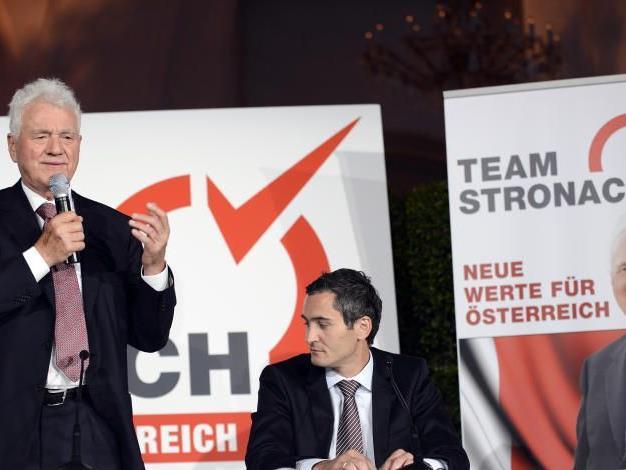 Stronach stellte heute seine Partei vor