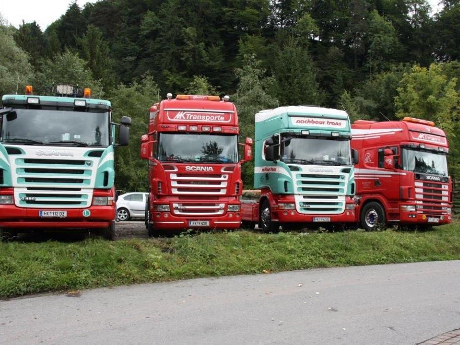Das 4. Scania-Treffen war wieder gut besucht und ein Renner.