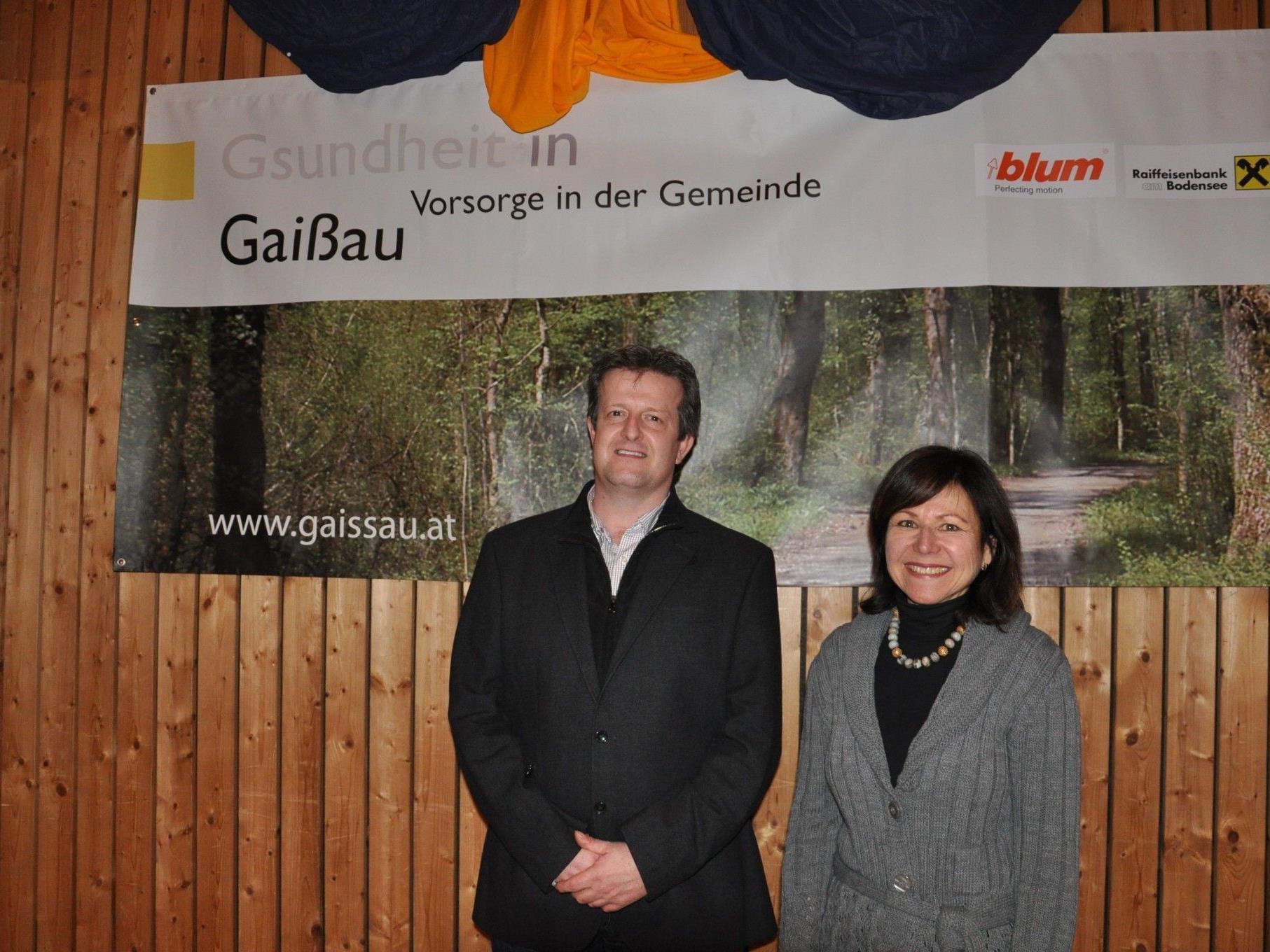 """Vortragsreihe """"Gsundheit in Gaißau"""" wurde von Judith Lutz vom Sozialzirkel Gaißau organisiert"""