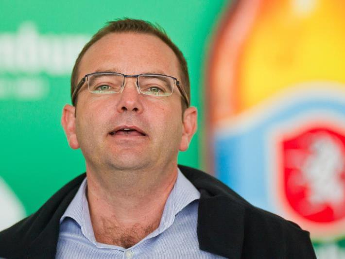 SCR Altach GF Christoph Längle freut sich auf die Woche der Herzen mit Benefizspiel und Turnier.