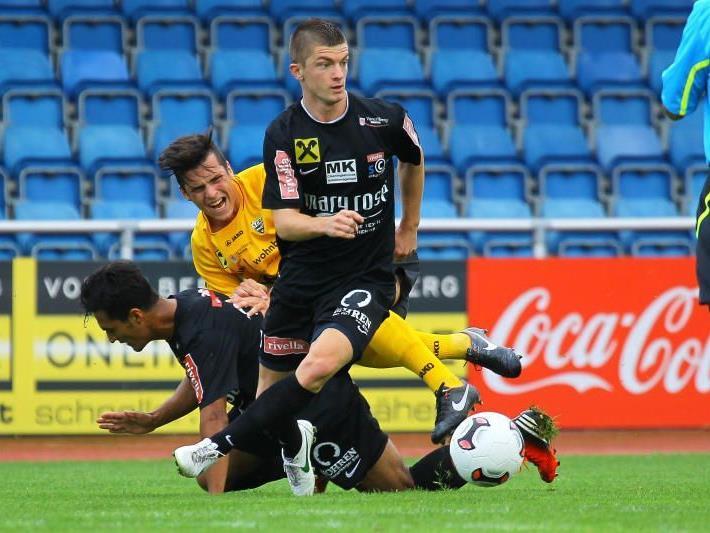 Dank dem Doppelpack von Franco Joppi steht Rivella SC Bregenz an der fünften Stelle in der Westliga.