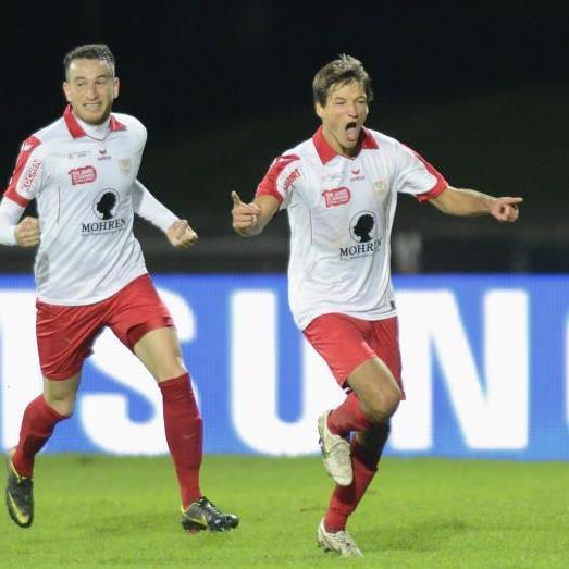 Manuel Honeck erzielte das 2:2 aber Dornbirn schied gegen die Wiener Austria aus.