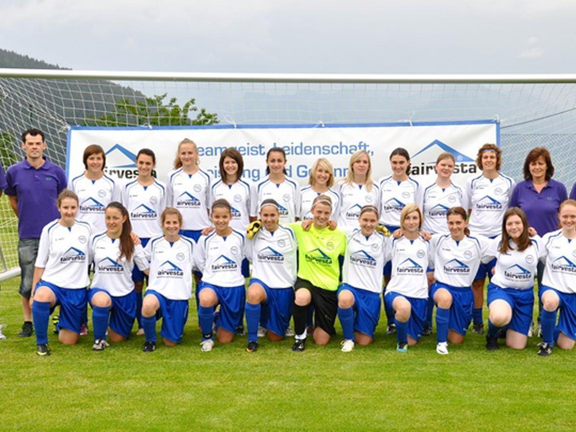 Wurden überlegen Herbstmeister in der Vorarlberg Liga das Team des FFC Vorderland.