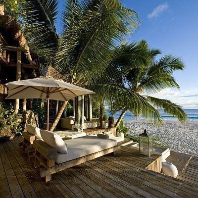 Hotel North Island / North Island, Seychellen.