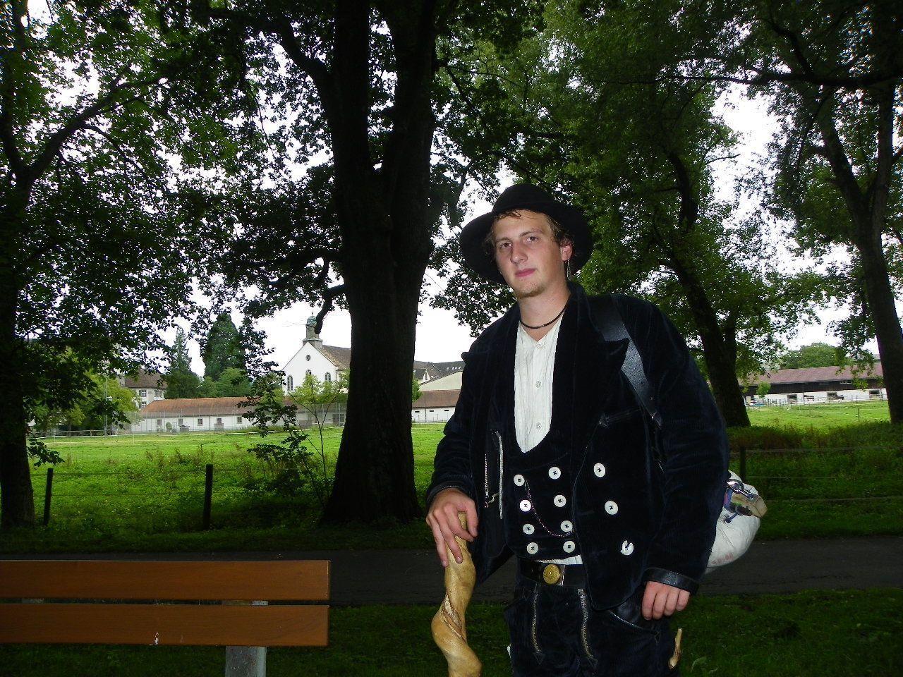 Dean aus Deutschland auf Besuch in Bregenz