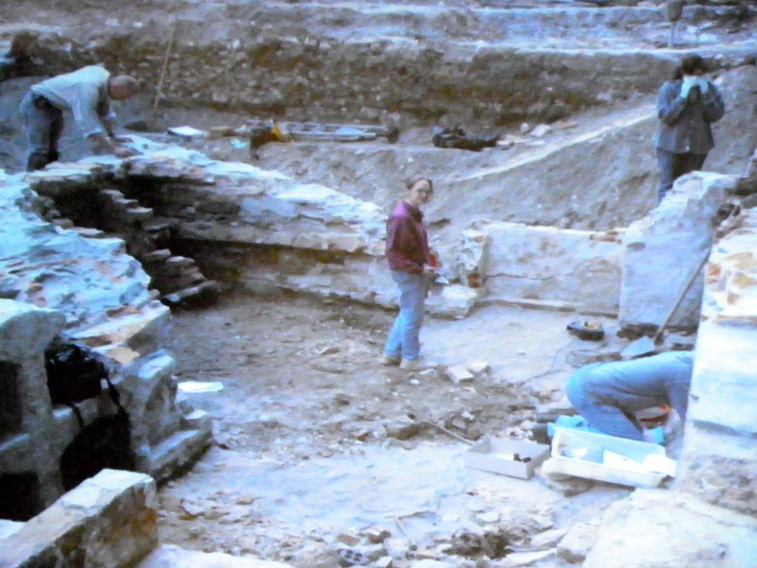 Grabungen an Bestattungsplatz in Bregenz