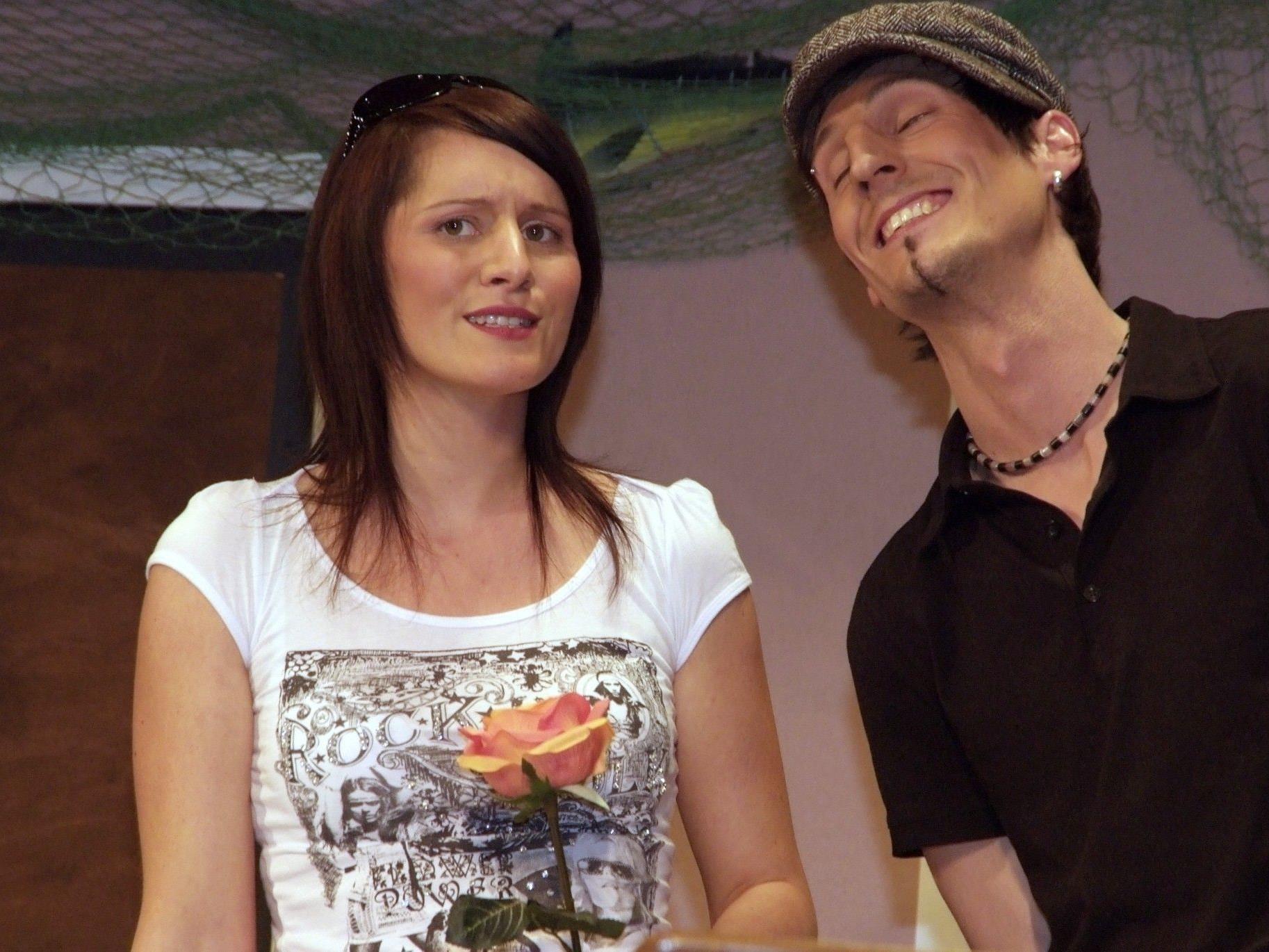 Christine Pfister und Alexander Bickel sind wieder voll im Theaterelement.
