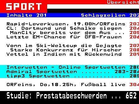 Der ORF hat die zweithöchste Liga aus dem Teletext verbannt
