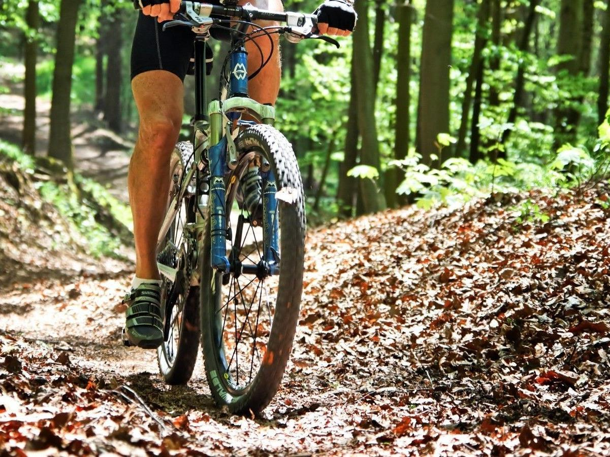 Mountainbike-Unfall in Bizau