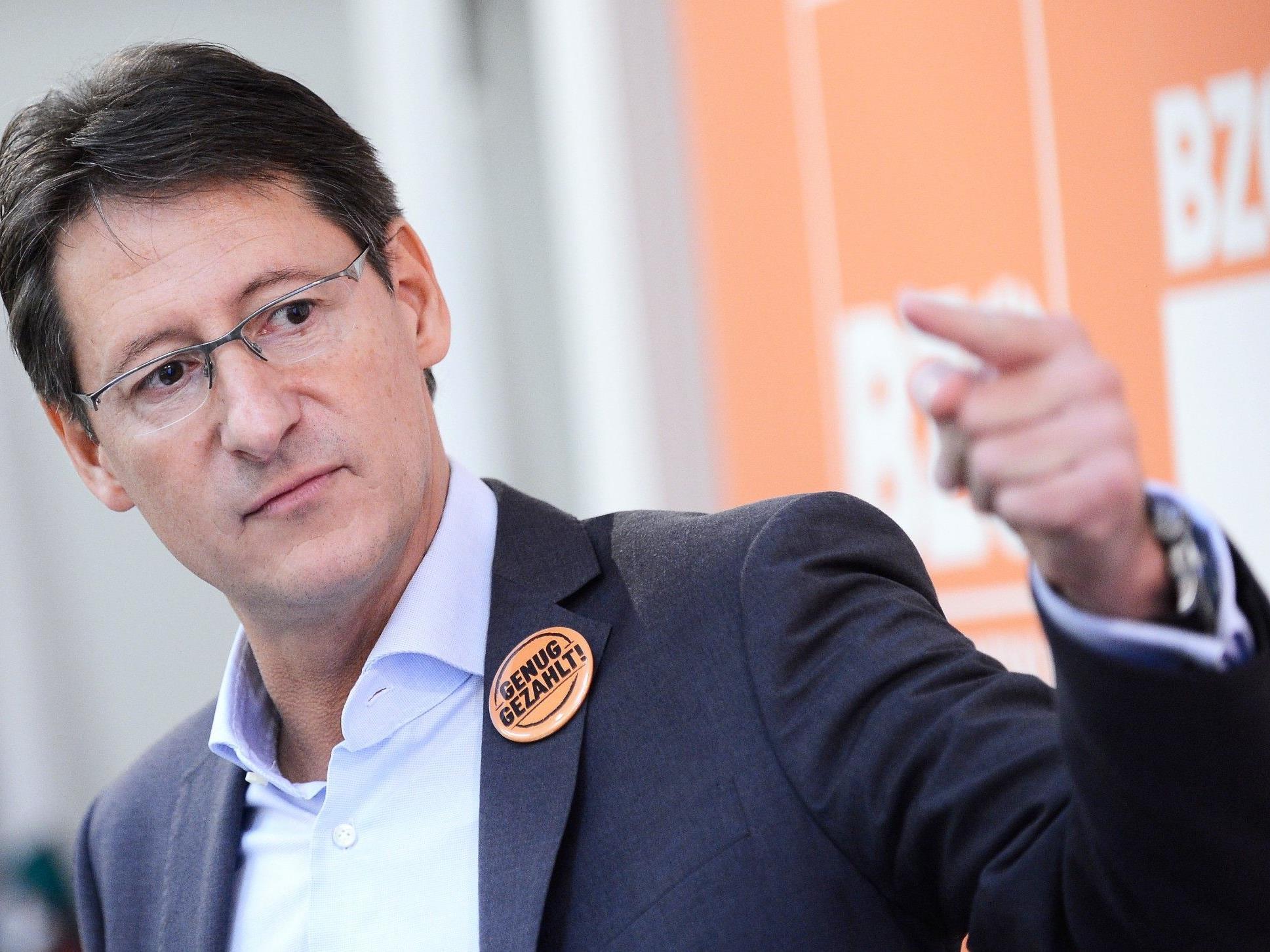 BZÖ-Parteiobmann Josef Bucher.