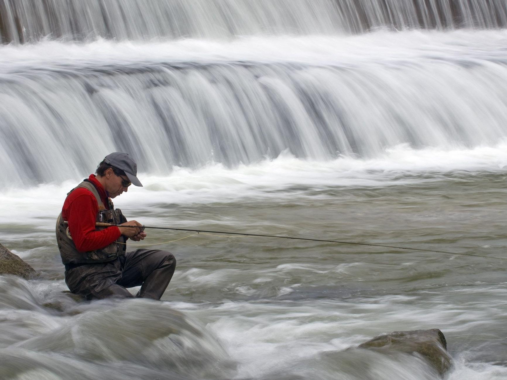 Fliegenfischen bedeutet ein gewisses Verständnis für die Belange der Natur.