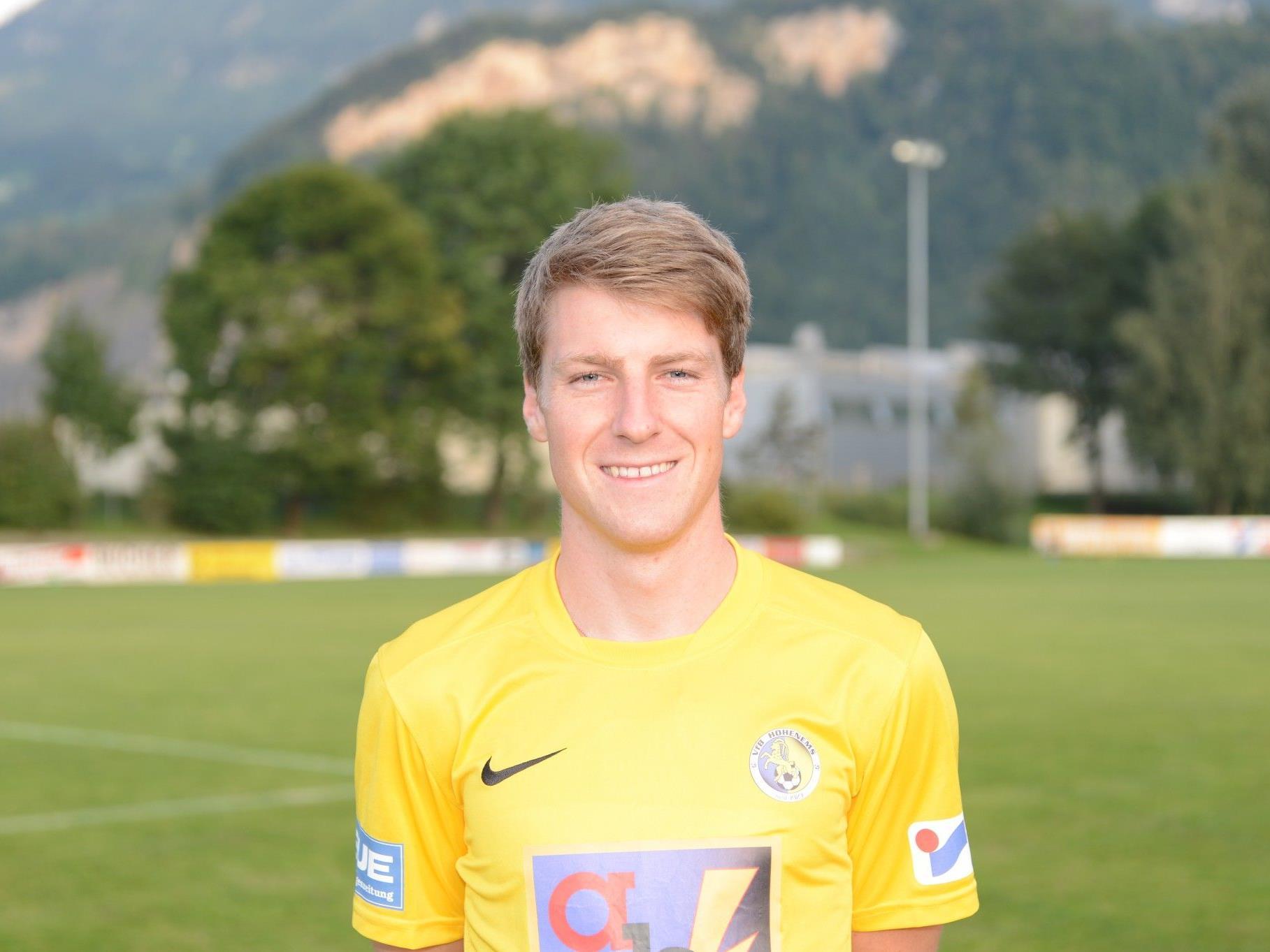 VfB-Kapitän Adrian Klammer erzielt drei Tore
