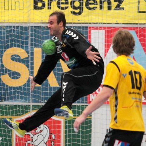 Bregenz-Keeper Goran Aleksic hielt vor allem in der zweiten Halbzeit stark