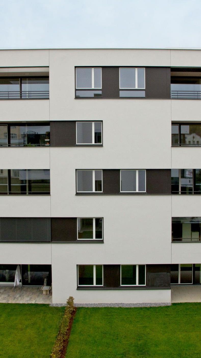 Im Benger-Park West in Bregenz wurden die ersten Wohnungen übergeben.
