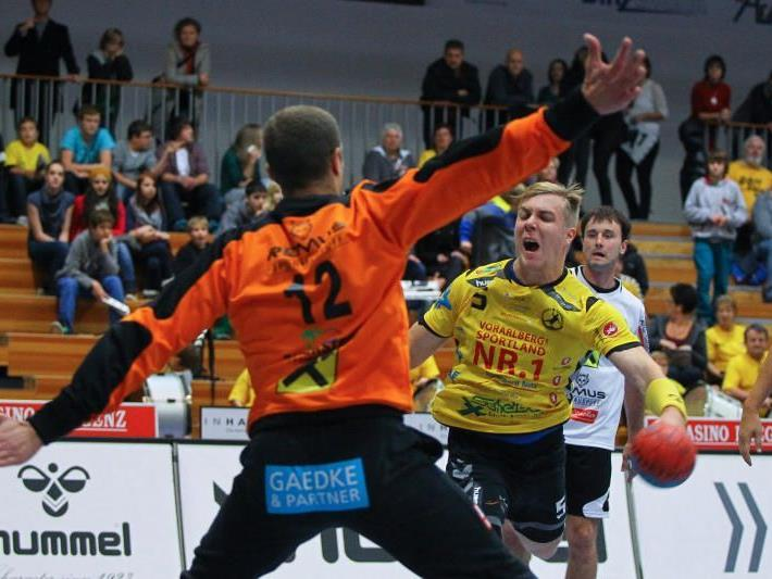 Bregenz Handball erfüllte gegen Bärnbach/Köflach die Pflicht
