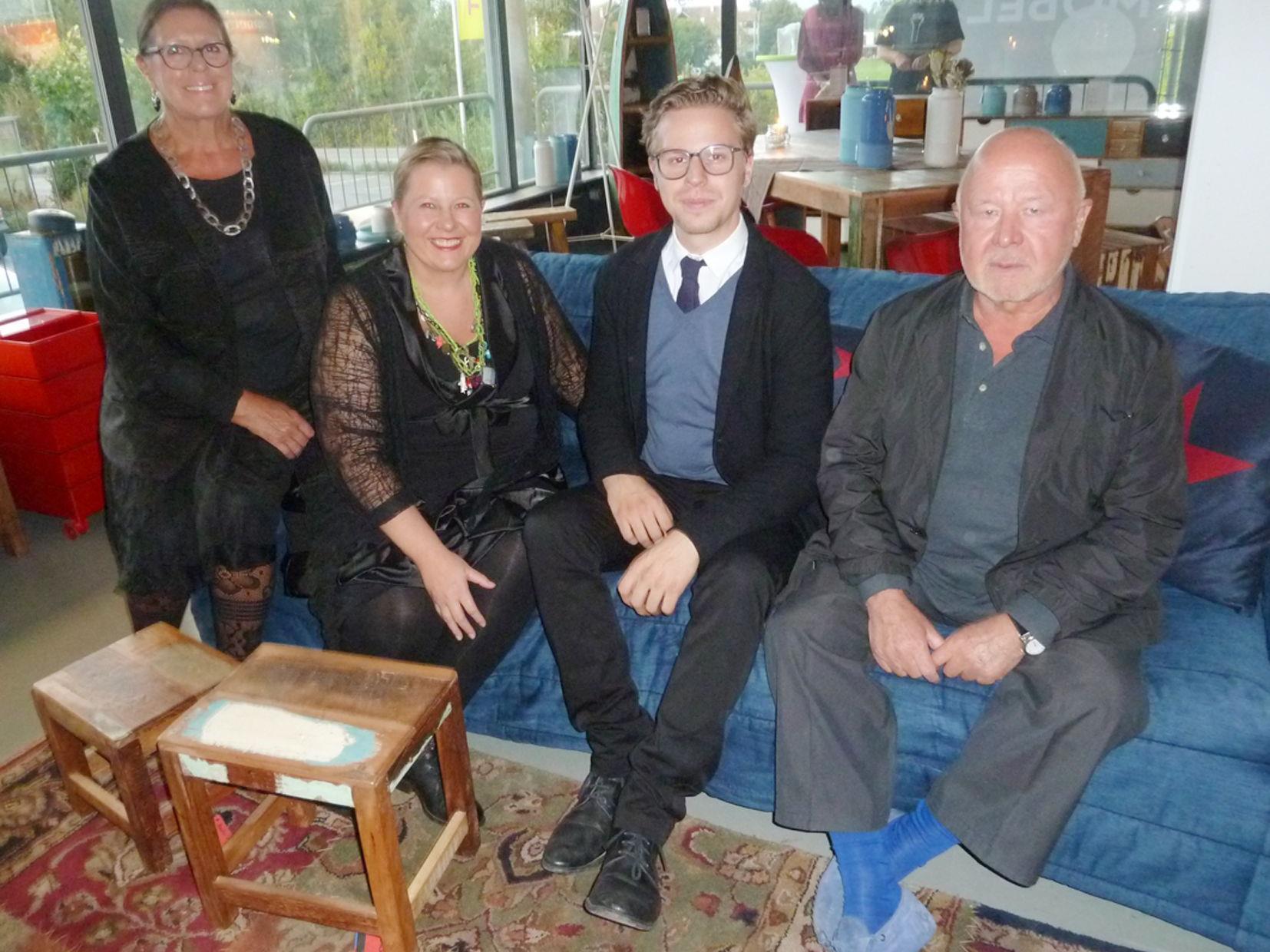 Die Unternehmerfamilie Helga, Simone, Philipp und Dieter Waltner (v.l.)