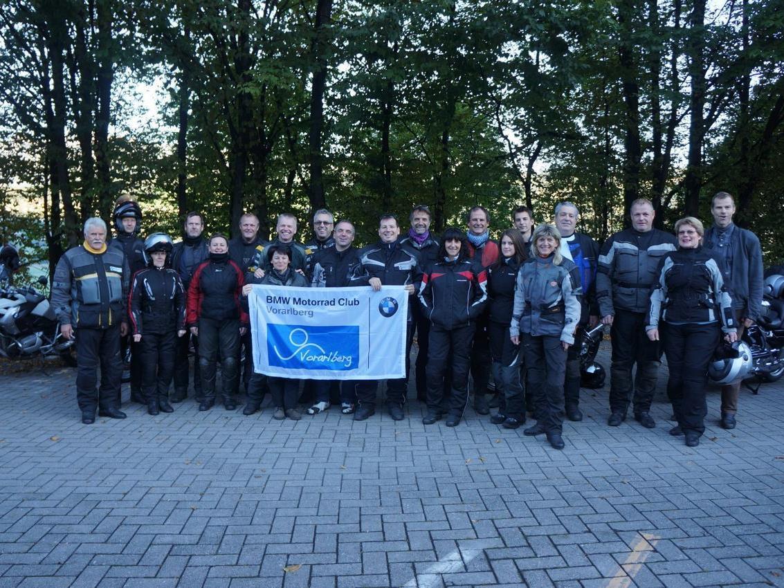 Mitglieder BMW Motorrad Club
