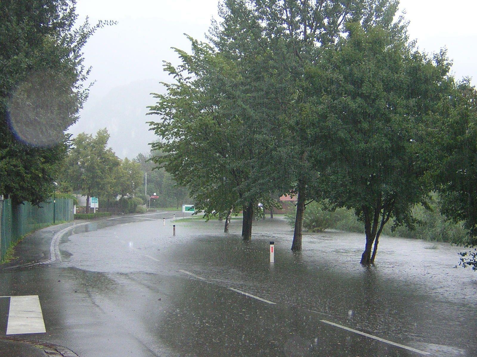 Beim Güllbach und Gostgraben kommt es bei stärkeren Regengüssen immer wieder zu massiven Problemen.