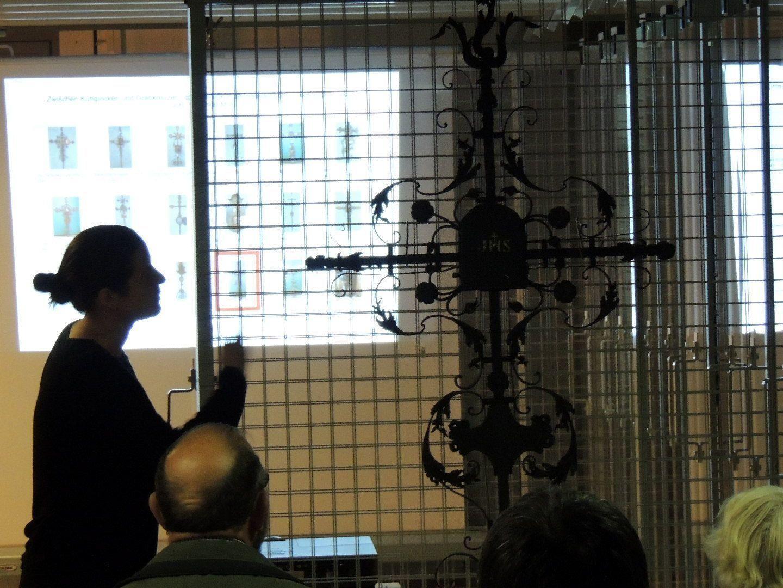 Bedeutendes Grabkreuz im Bestand des vorarlberg museums