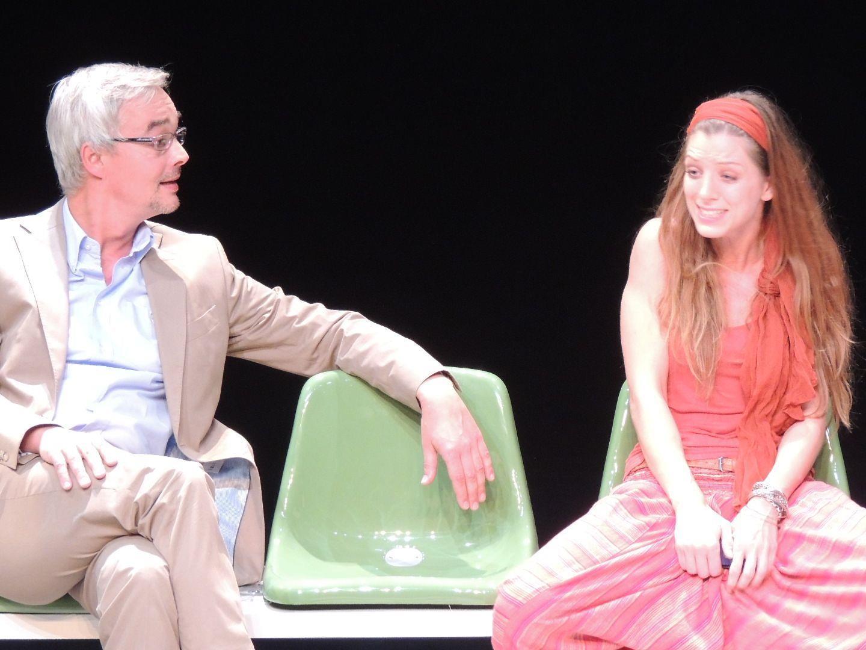 """Diana Kashlan und Bernhard Majcen in """"Lampedusa"""""""