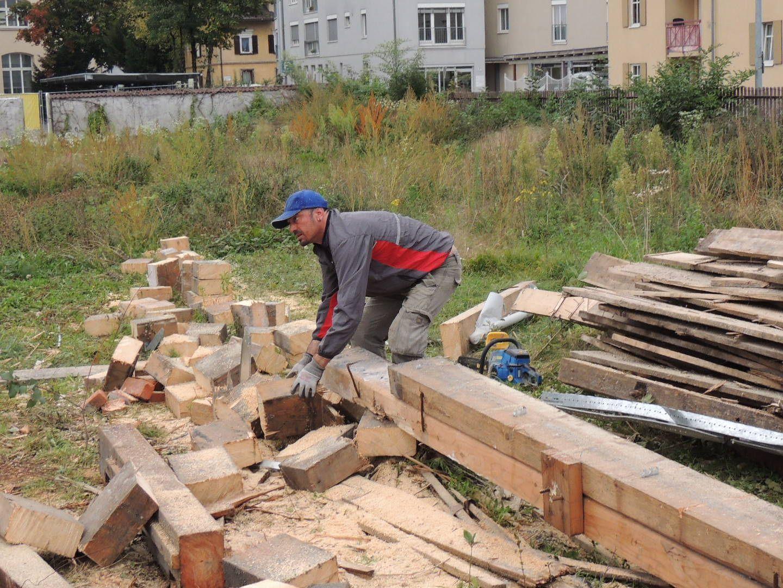 Beste Qualität der 100jährigen Holzträger